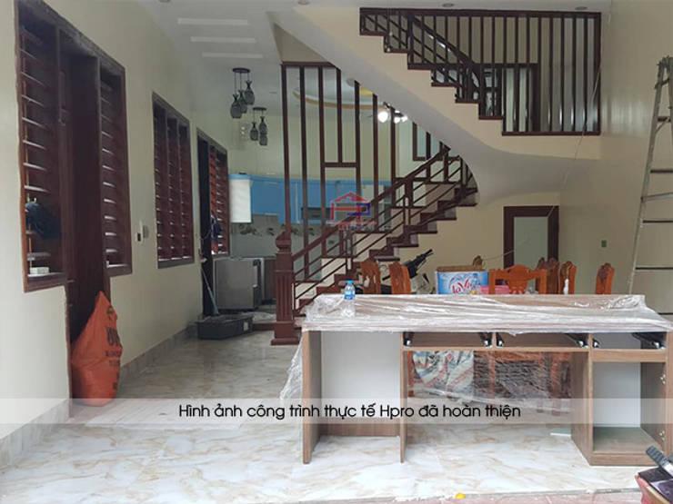 Hpro tiến hành lắp đặt tủ bếp acrylic cho nhà anh Toản ở Lạng Sơn:  Kitchen by Nội thất Hpro