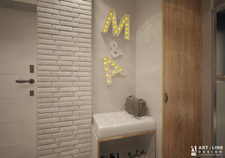 прихожая Коридор, прихожая и лестница в стиле минимализм от Art-line Design Минимализм