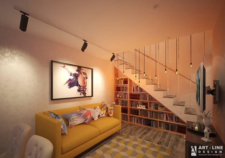 Гостиная Гостиная в стиле минимализм от Art-line Design Минимализм
