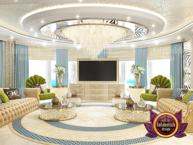Lovely Luxury Interior for Living Room:   by Luxury Antonovich Design