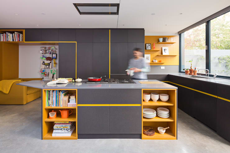 Kitchen:  Built-in kitchens by Shape London, Modern