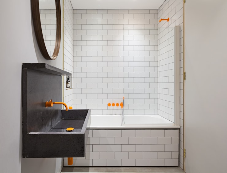 Bathroom:  Bathroom by Shape London, Modern