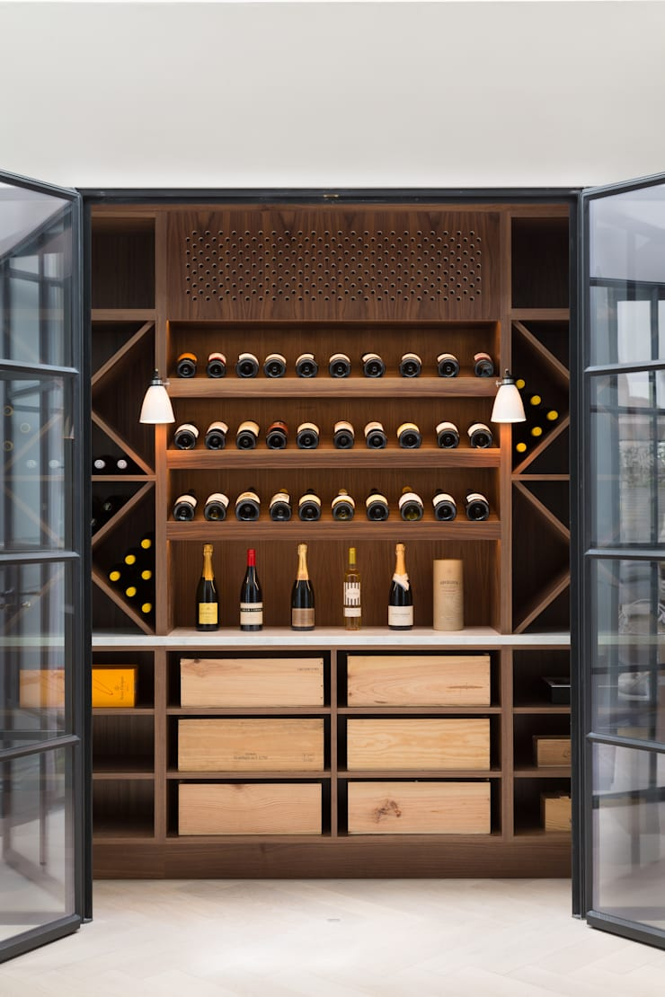 Wine bar Bodegas de estilo moderno de Shape London Moderno
