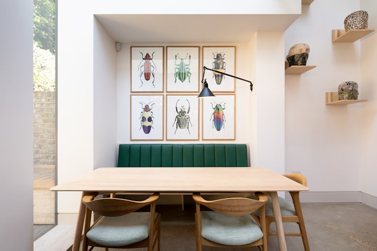 The Signal House Comedores de estilo moderno de Shape London Moderno