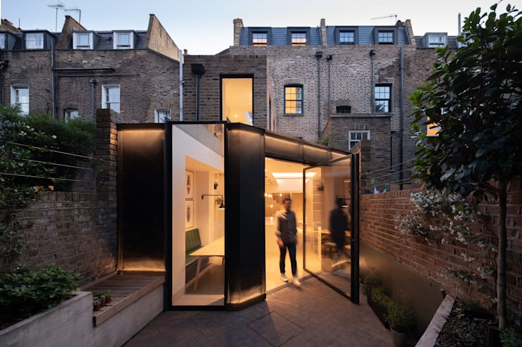 The Signal House Casas estilo moderno: ideas, arquitectura e imágenes de Shape London Moderno