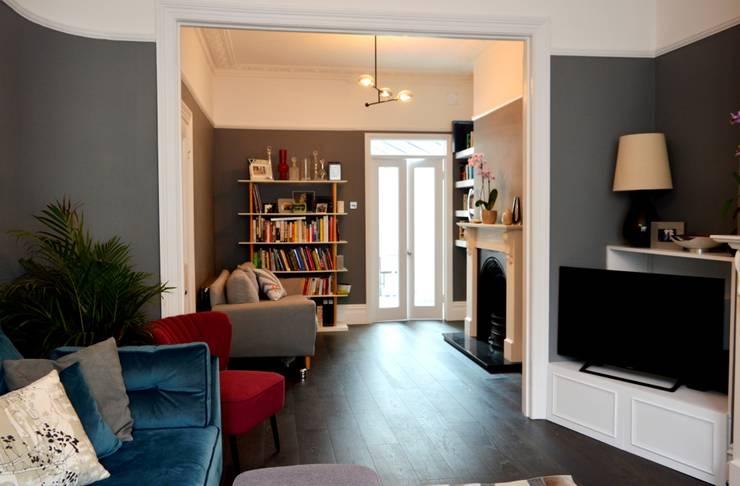 Salones de estilo  de dwell design, Moderno