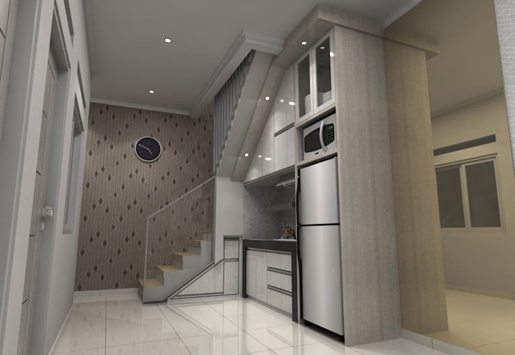 Pinus Agency Bandung:  Dapur built in by Maxx Details