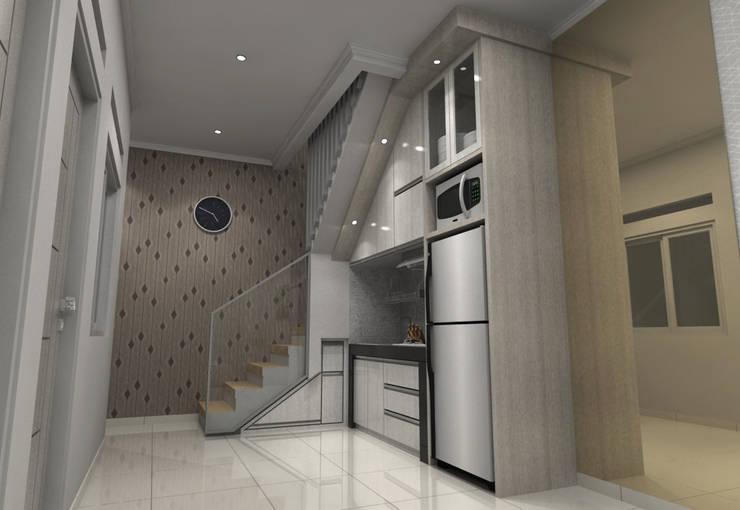 Pinus Agency Bandung: Dapur built in oleh Maxx Details, Minimalis