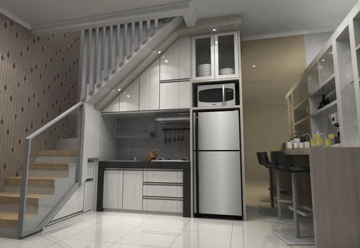 Pinus Agency Bandung: Dapur oleh Maxx Details, Minimalis
