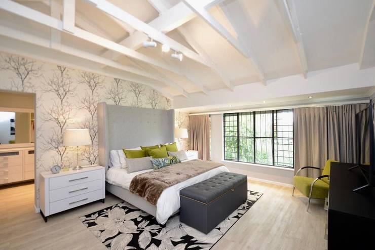 Dormitorios de estilo  por CS DESIGN