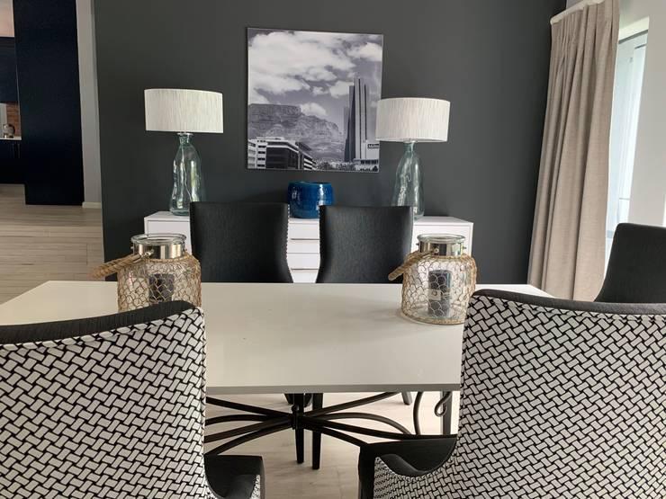 Home Renovation, Jukskei Park, Johannesburg:  Dining room by CS DESIGN, Modern