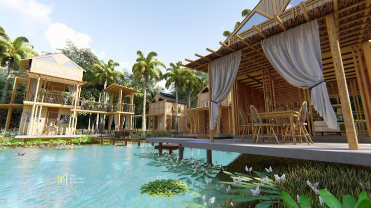 PIRAIPINA:  บ้านคันทรี่ by GRID ARCHITECT THAILAND
