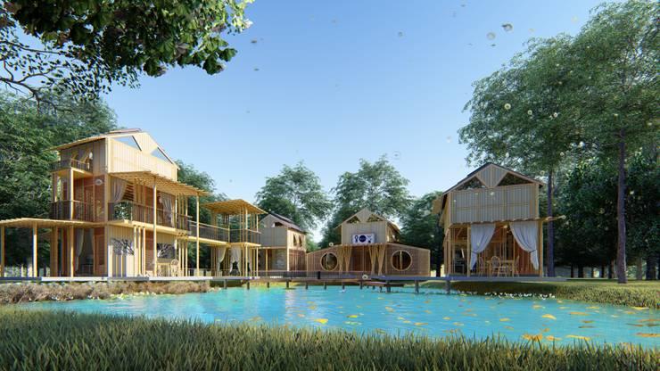 PIRAIPINA:  บ้านและที่อยู่อาศัย by GRID ARCHITECT THAILAND