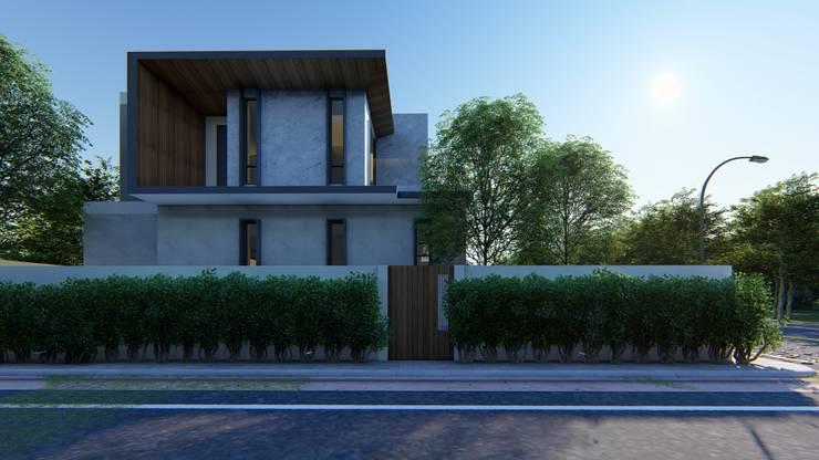 RESIDENT:  บ้านเดี่ยว by GRID ARCHITECT THAILAND