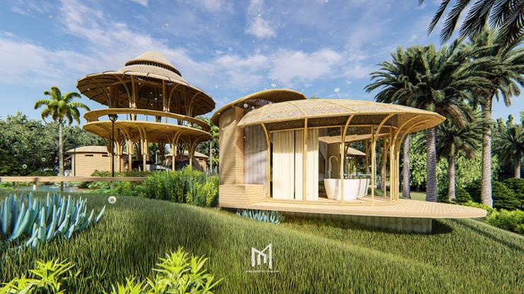 FATHER FARM:  บ้านและที่อยู่อาศัย by GRID ARCHITECT THAILAND
