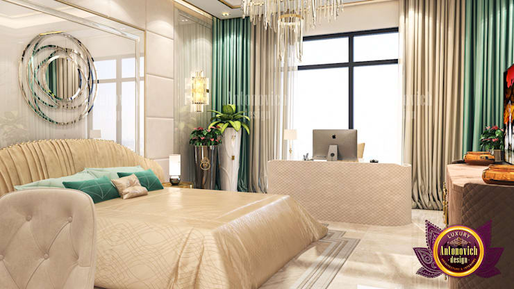 "Lovely Elegant Bedroom Interior: {:asian=>""asian"", :classic=>""classic"", :colonial=>""colonial"", :country=>""country"", :eclectic=>""eclectic"", :industrial=>""industrial"", :mediterranean=>""mediterranean"", :minimalist=>""minimalist"", :modern=>""modern"", :rustic=>""rustic"", :scandinavian=>""scandinavian"", :tropical=>""tropical""}  by Luxury Antonovich Design,"