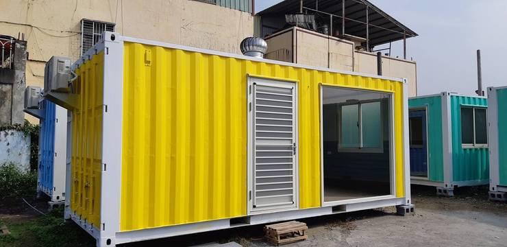 貨櫃屋:   by 茂林樓梯扶手地板工程團隊