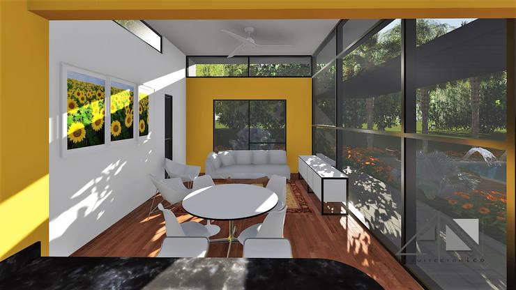 Comedor y salón.:  de estilo  por ARQUITECTOnico
