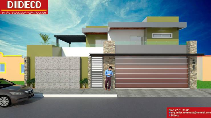 Maisons de style  par DIDECO,