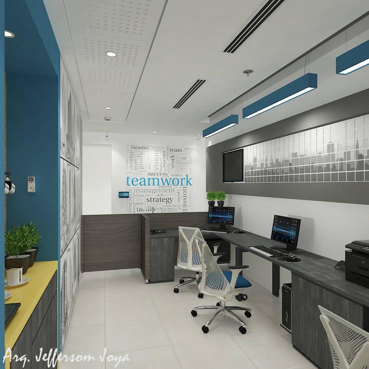 Grupo Cava Inmobiliaria: Oficinas y Tiendas de estilo  por Joya Arquitecto