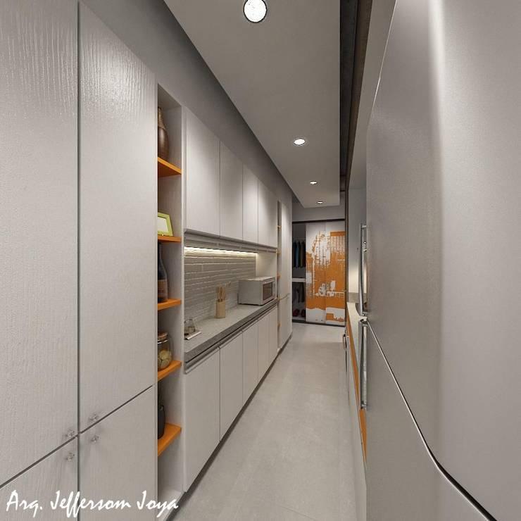 Apartamento Tipo Loft de Joya Arquitecto Industrial