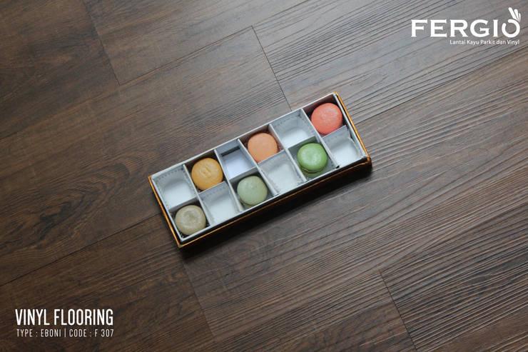 EBONI:  Walls & flooring by PT. Wahana Adhi Pratama