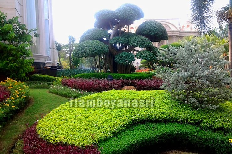 Tukang Taman Surabaya - Desain Taman Eropa:  Taman batu by Tukang Taman Surabaya - flamboyanasri