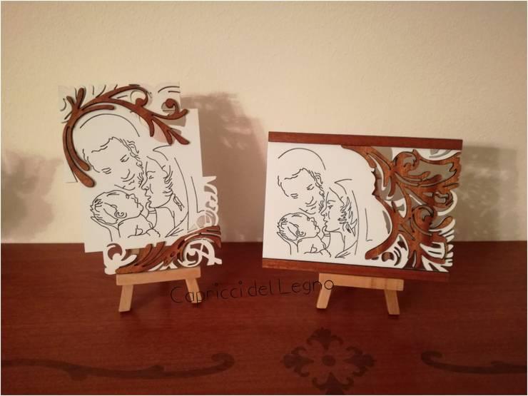 Capezzali e quadri per Camera Da Letto di Capricci del Legno | homify