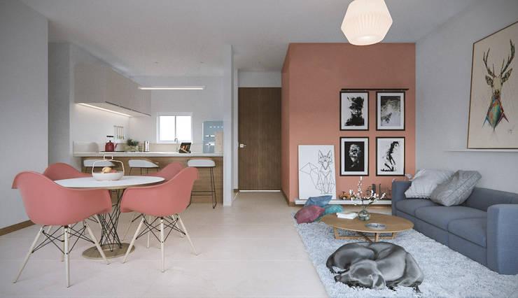 Bochalema :  de estilo  por AMB arquitectura + visualización