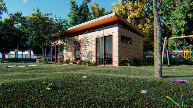Casa Moderna :  de estilo  por AMB arquitectura + visualización