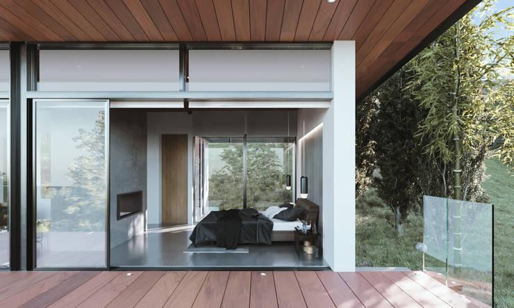 Tiny Hause :  de estilo  por AMB arquitectura + visualización