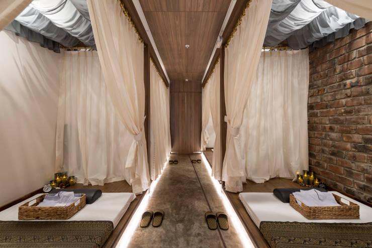 Spa - Centro Comercial El Polo II, Surco: Spa de estilo  por Baum Studio,