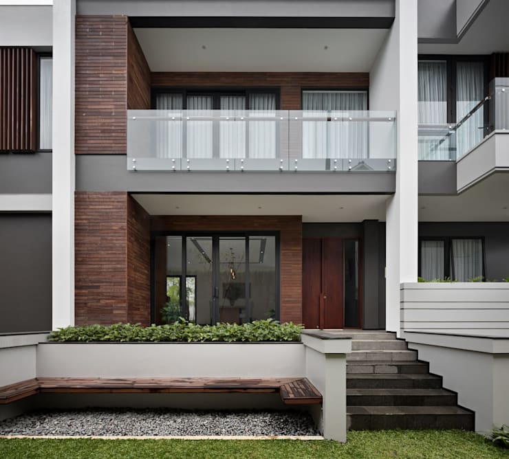 Gio House Setraduta:  Rumah by CV Berkat Estetika