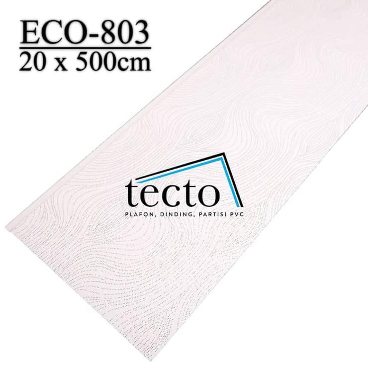 Walls & flooring by Tecto Plafon