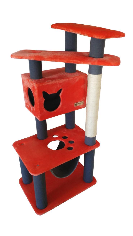 Gimnasio para gatos, referencia Paraná : Hogar de estilo  por ModuCat Estructuras modulares para gatos