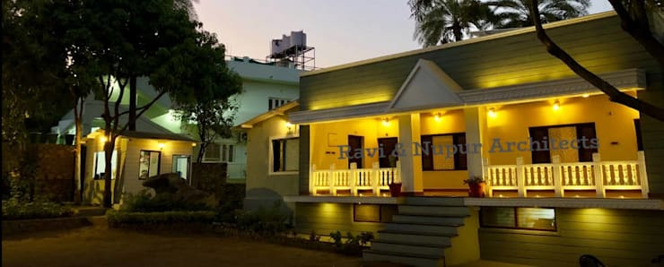 RAVI - NUPUR ARCHITECTSが手掛けたホテル