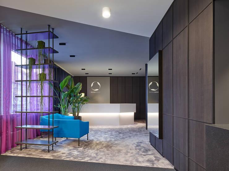 Büroplanung Office Design Studio Komo Stuttgart :  Bürogebäude von Studio Komo,Modern