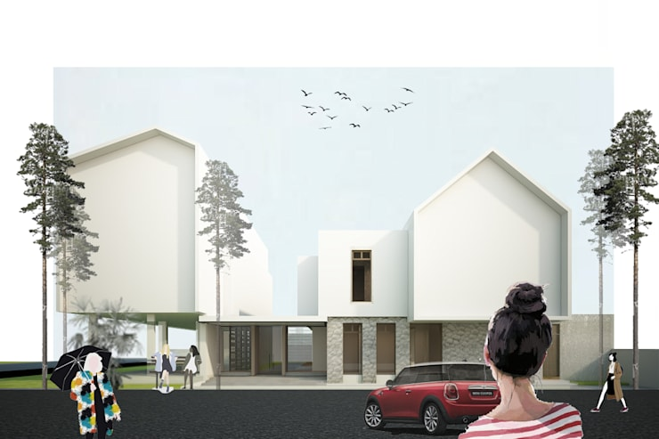 yehos house:  Rumah by midun and partners architect