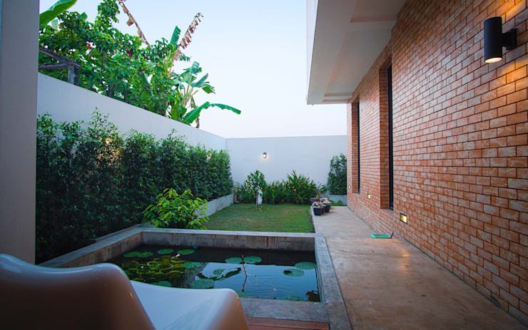 Back Yard:   by Pilaster Studio Design