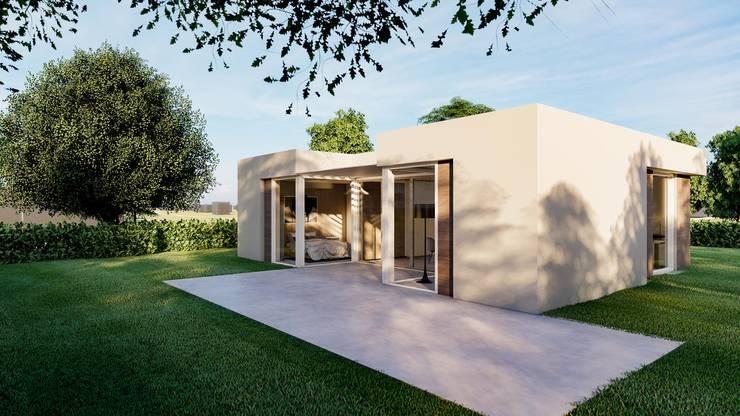 Levensloopbestendig wonen:   door RABARB Architecten, Scandinavisch