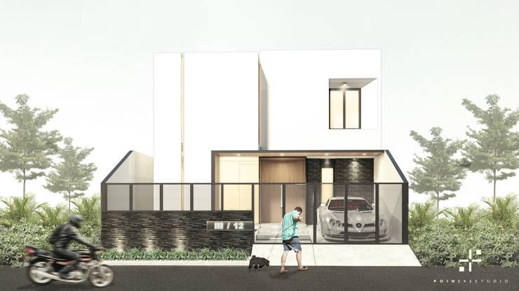 Rumah Mr.A:   by Poin Plus Studio