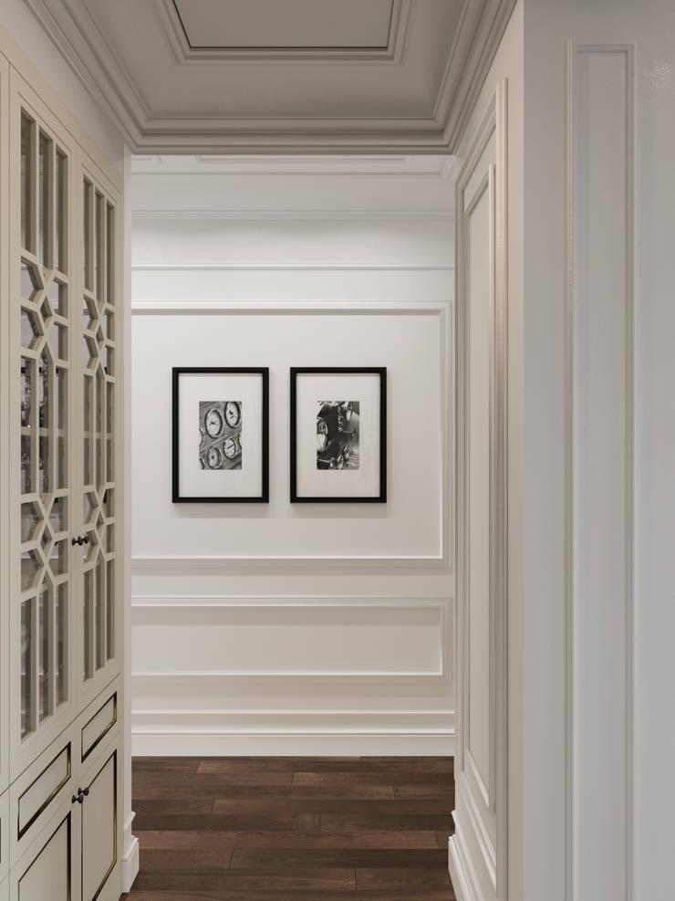 Ingresso & Corridoio in stile  di Дизайн интерьера Киев tishchenko.com.ua,
