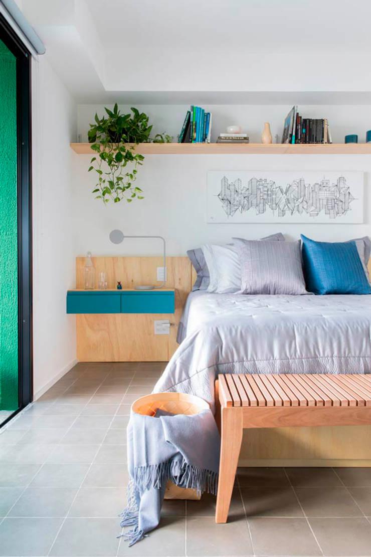 Small bedroom by INÁ Arquitetura