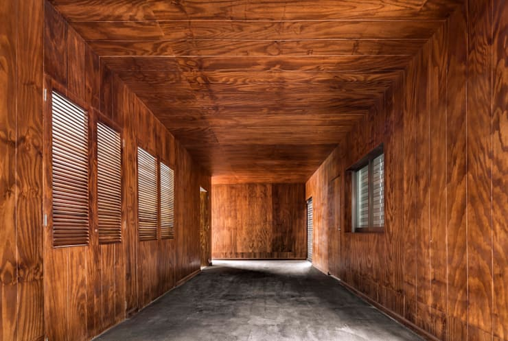 الممر والمدخل تنفيذ Apaloosa Estudio de Arquitectura y Diseño