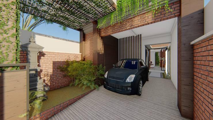parking area:  Ruang Komersial by Aper design