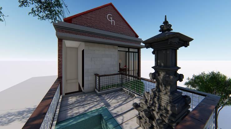 balcony:  Rumah Sakit by Aper design