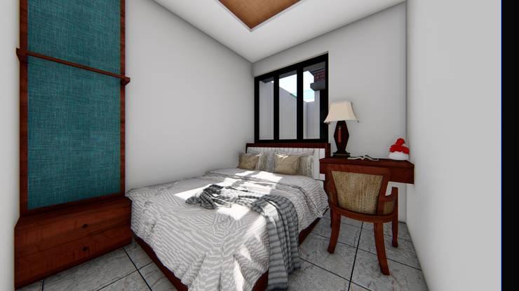 bed room:  Ruang Komersial by Aper design