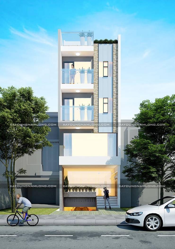 Thiết kế nhà cho thuê:   by Thiết kế nhà đẹp ở Hồ Chí Minh