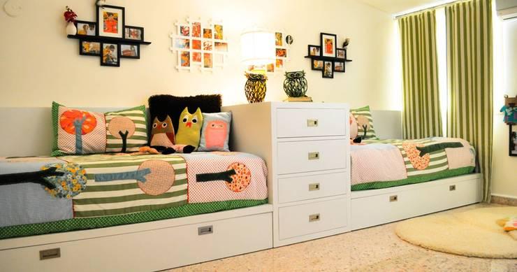 Dormitorios Infantiles: Dormitorios infantiles  de estilo  por Corporación Siprisma S.A.C,