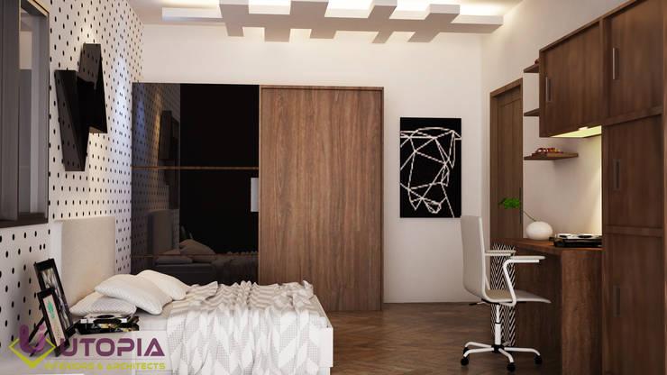 kids bedroom:  Bedroom by Utopia Interiors & Architect,